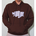 100PRO Family Hoody Brown